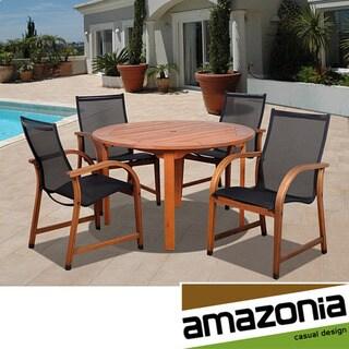 Amazonia Cosmopolitan 5-piece Round Dining Set