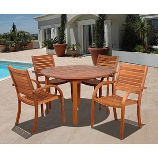 Amazonia Riviera 5-piece Round Dining Set