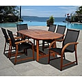 Cosmopolitan 7-piece Oval Dining Set