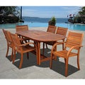 Riviera 7-piece Oval Dining Set