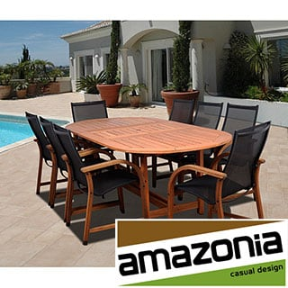 Cosmopolitan 9-piece Oval Dining Set