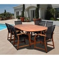 Amazonia Cosmopolitan 9-piece Oval Dining Set