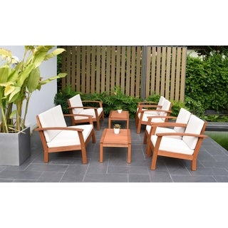 Amazonia Pacific 8-piece Conversation Living Room Set