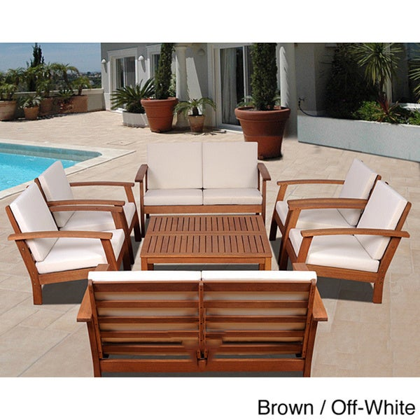 Amazonia pacific 8 piece conversation living room set for 8 piece living room set