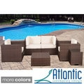 Verona Off-white 6-piece Wicker Patio Set