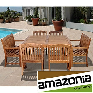 Rochelle 7-piece Teak Dining Set