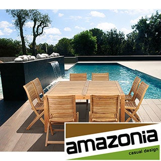 Montpellier 9-piece Teak Dining Set