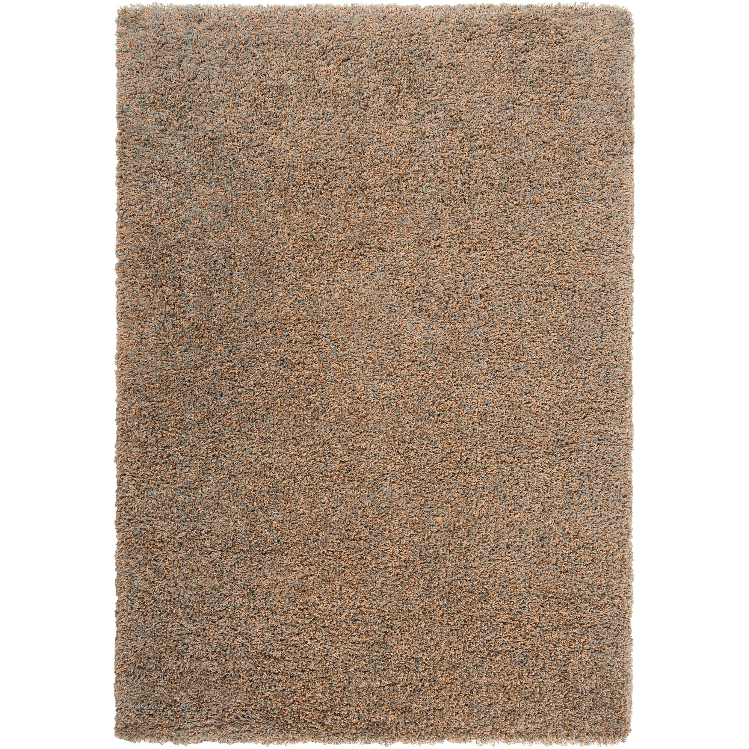 Woven Tan Luxurious Soft Shag Rug (6