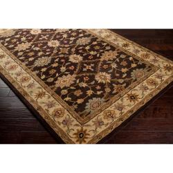 Hand-tufted Brown Clifford New Zealand Wool Rug (3'3 x 5'3)