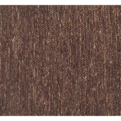 Abstract Hand-Woven Brown Doctate Natural Fiber Hemp Rug (8' x 11')