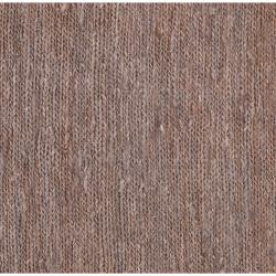 Hand-woven Brown Doctate Natural Fiber Hemp Rug (5' x 8')