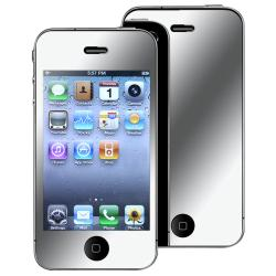 BasAcc Mirror Screen Protector for Apple iPhone 4/ 4S