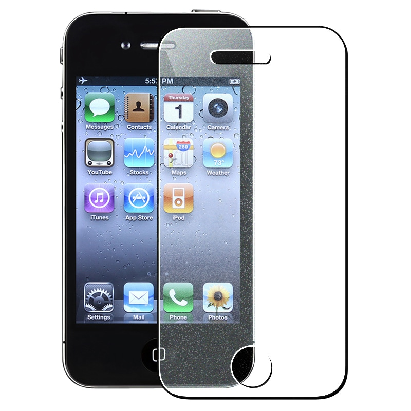 INSTEN Colorful Diamond Screen Protector for Apple iPhone 4/ 4S