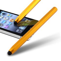 Yellow Metal Stylus for Apple iPhone/ iPod/ iPad