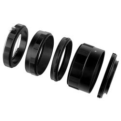 Set of Macro Extension Tubes and Adapters for Nikon Digital Cameras