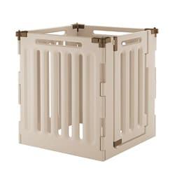 Richell Convertible Indoor/ Outdoor 4-Panel Pet Playpen