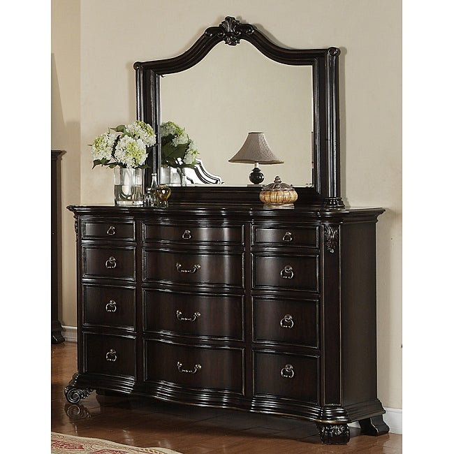 Jensen Dresser and Mirror Set