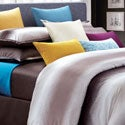 Mocha Galaxy Queen-size 8-piece Cotton Comforter Set