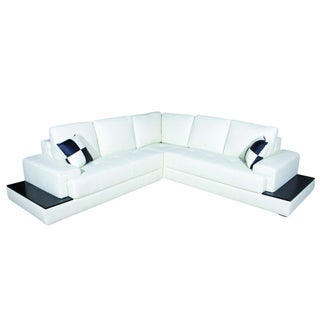 Helen Bonded Leather Sectional