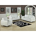 Megan White Loveseat