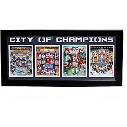 Boston 'City of Champions' Four-photo Sports Frame