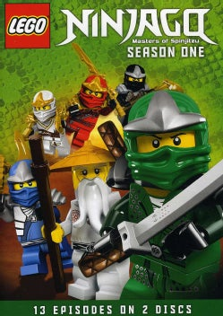 LEGO Ninjago: Masters Of Spinjitzu Season One (DVD)