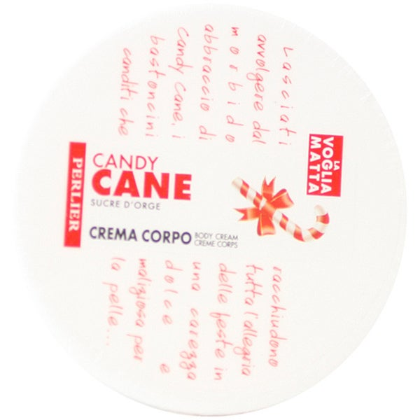 Perlier Candy Cane Women's 10-ounce Body Cream