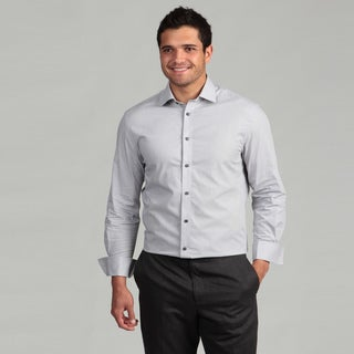 Marc New York Men's Slim Fit Grey Dress Shirt FINAL SALE