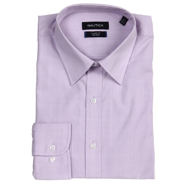 Nautica Men's Non-iron Classic Fit Dress Shirt FINAL SALE