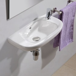 Bissonnet Sena Ceramic Bathroom Sink