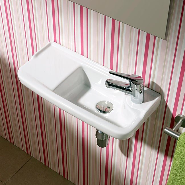 Bissonnet Oxigen Bathroom Ceramic Sink