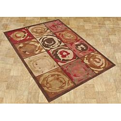 Hand-made Sabrina Mocha Mousse New Zealand Wool Rug (5' x 8')
