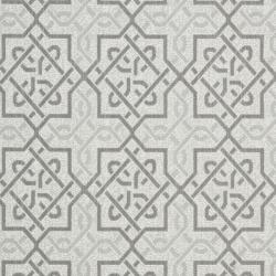 Safavieh Light Gray/Anthracite Indoor/Outdoor Border Rug (4' x 5'7