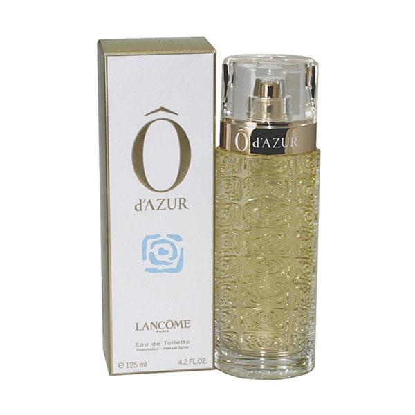 Lancome O DAzur Women's 4.2-ounce Eau de Toilette Spray