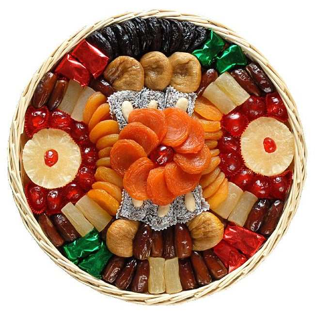 California Fruit 'Mediterranean Delight' Dried Fruit Gift Basket