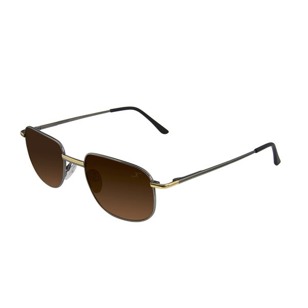 Xezo Men's Airacobra 180 Titanium Polarized Sunglasses