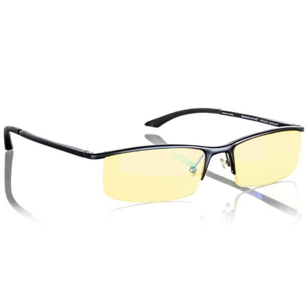 Gunnar Emissary Onyx/ Amber Semi-rimless Advanced Computer Glasses