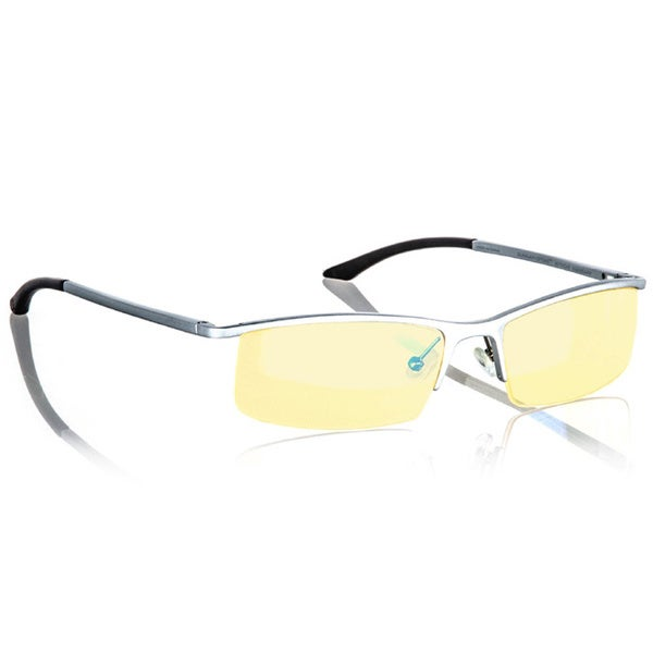 Gunnar Optiks Emissary Mercury Amber Semi-rimless Advanced Computer Glasses