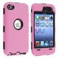 Insten Hybrid Hard PC/ Soft Silicone iPod Case for Apple iPod Touch 4th Gen