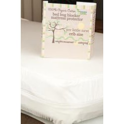 My Little Nest Organic Waterproof Crib Mattress Cover