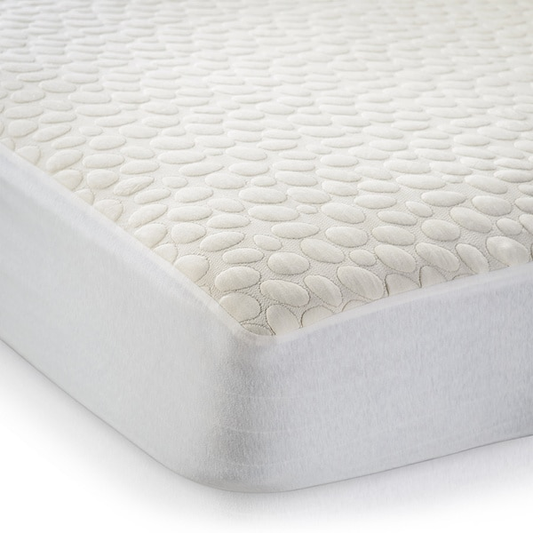 Christopher Knight Home Textured Organic Cotton Waterproof Crib Bed Bug Protector Encasement