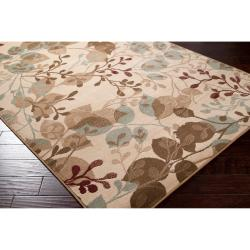 Transitional Woven Tan Parrish Rug (5'3