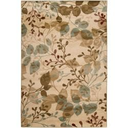 Transitional Woven Beige Parrish Rug (5'3