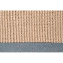 Hand-woven Gray Sophie A Natural Fiber Jute Rug (5' x 8')