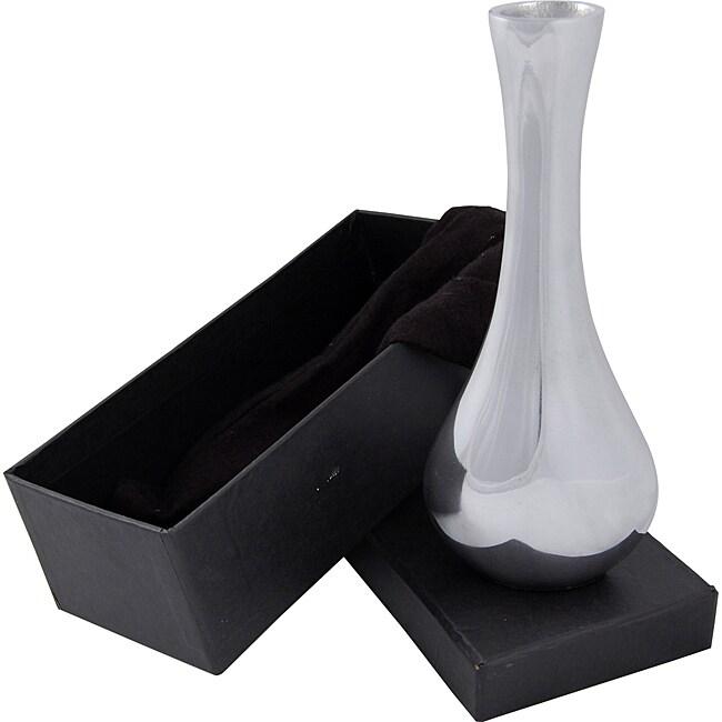 Premium Designer Series Aluminum Bud Vase