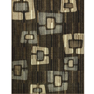 Avante Improvisation Chocolate Rug (9' x 12')