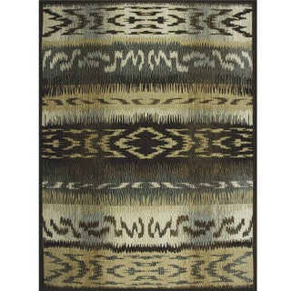 Avante First Nation Grey Rug (9' x 12')