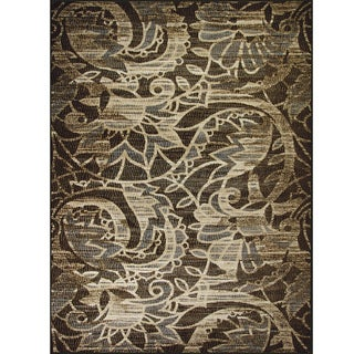 Avante Sweet Remembrance Chocolate Rug (9' x 12')