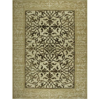 Avante Delicate Attentions Beige Rug (9' x 12')