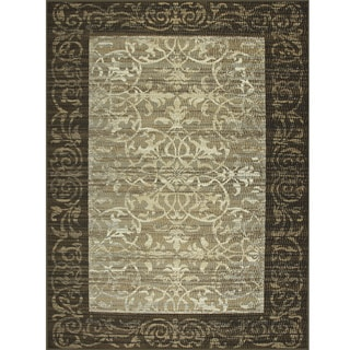 Avante Delicate Attentions Chocolate Rug (9' x 12')